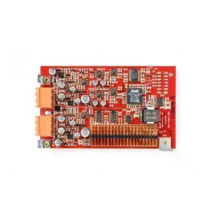 Tarjeta de 2 entradas línea/micro, AudiaFLEX AEC-2HD