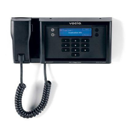 Estación de llamada de montaje en pared Vocia EWS-10